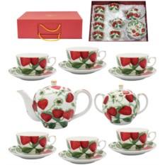 Чайный сервиз Клубника