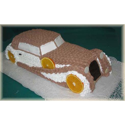 Торт «Старинный автомобиль»