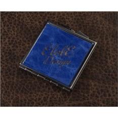 Карманное зеркальце, коллекция Elole Design (синий)