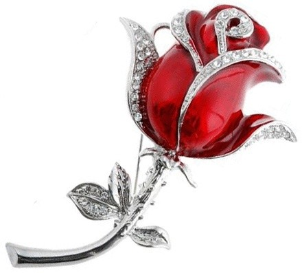 Флешка Роза красная