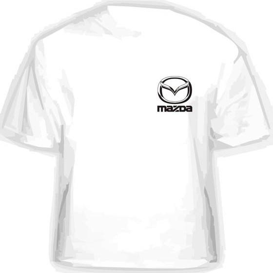 Прикольная футболка MAZDA
