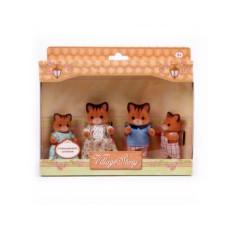 Игровой набор Семья рыжих котиков