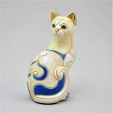 Керамическая статуэтка Белая кошка