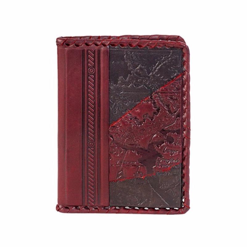 Кожаная обложка на паспорт Рэд