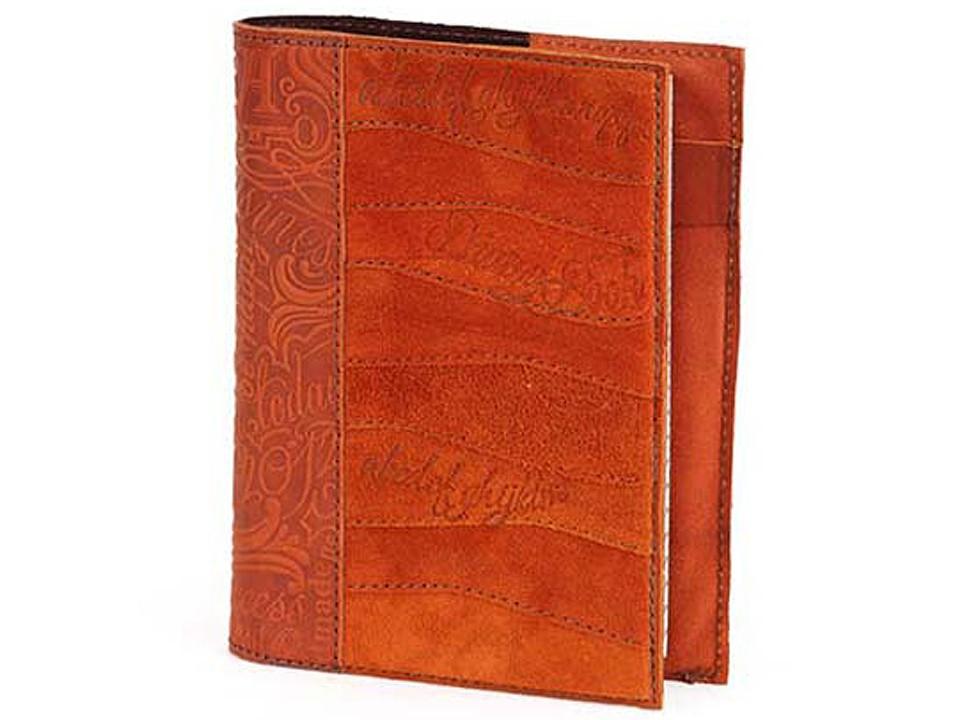 Ежедневник малого формата в обложке из натуральной кожи