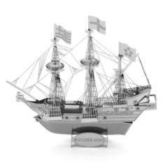 3D-пазл из металла Английский галеон