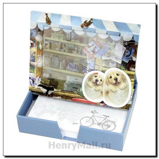 Коробка-фоторамка для записок «Веселый шоппинг»