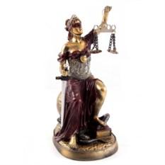 Статуэтка Греческая богиня правосудия - Фемида