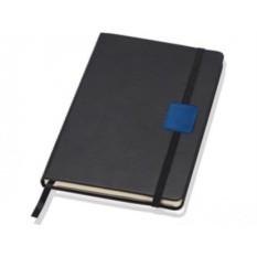 Блокнот Lettertone А5 Label (цвет — черный/синий)
