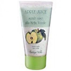 Маска-скраб для лица с зеленым яблоком