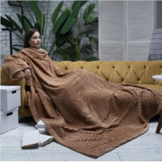 Плед с рукавами Sleepy Luxury Beige