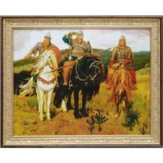 Картина Сваровски Три Богатыря