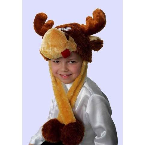 Карнавальная шапка «Весёлый лось»