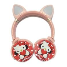 Наушники Bluetooth KR 6500 Hello Kitty с микрофоном
