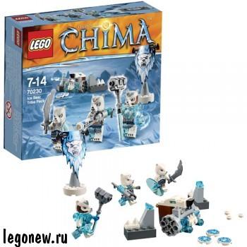 Конструктор Лагерь ледяных Медведей Lego