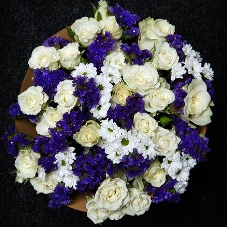 Букет цветов Облака
