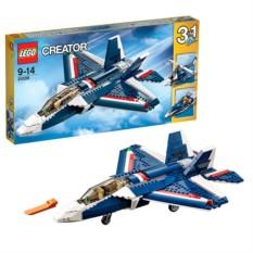 Конструктор Lego Creator Синий реактивный самолет
