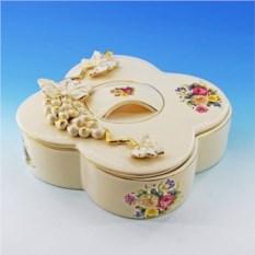 Шкатулка из керамики Барокко