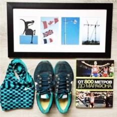 Картина из фото Подарок для бегунов