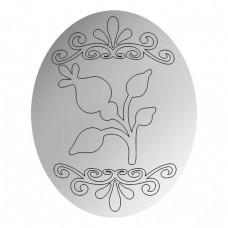 Зеркало Пасхальный цветок 4
