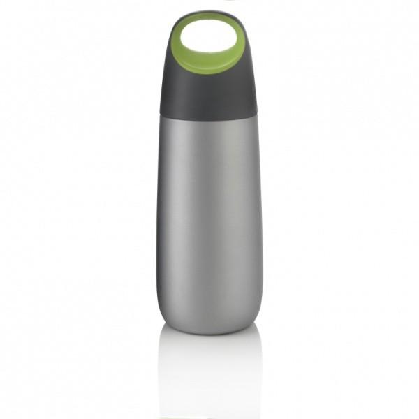 Фляга вакуумная Bopp 600 мл, зеленая/серая