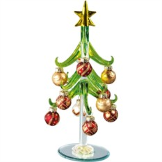 Елка из стекла Рождество