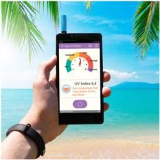 Детектор ультрафиолетового излучения для смартфона