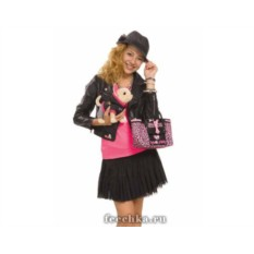 Плюшевая собачка с сумкой Рок-звезда (Simba)
