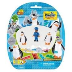 Конструктор Три фигурки пингвинов в блистере