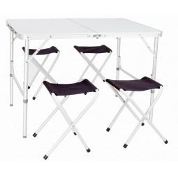 Набор для отдыха на природе: стол и стулья