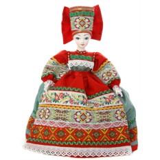 Кукла на чайник Василиса