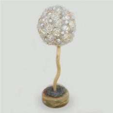 Любовное дерево из молочного опала (кахолонга)