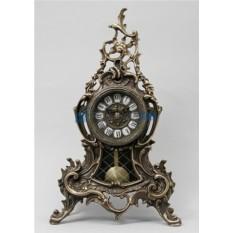 Каштановые часы из бронзы с маятником Луис