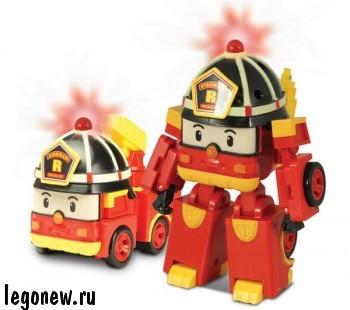 Машинка - трансформер Рой (Robocar)