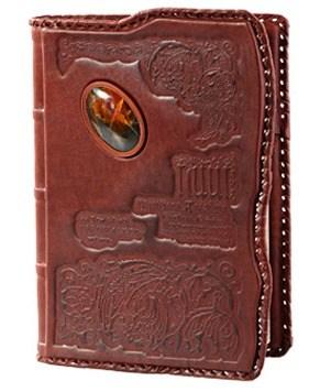 Недатированный кожаный ежедневник формата А5