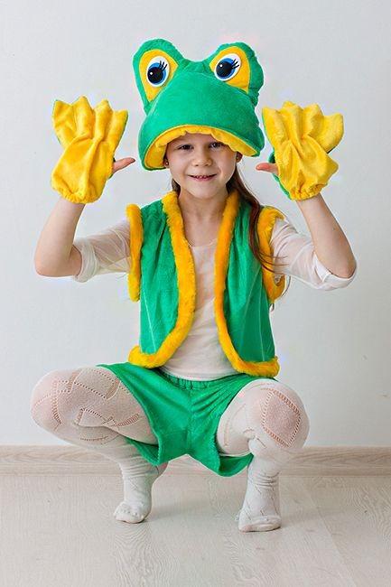 Карнавальный костюм Лягушка-квакушка, 3-7 лет