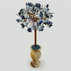 Дерево из лазурита и кахолонга Рассвет
