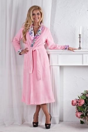 Розовый халат Five Wien Rozaly