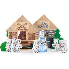 Конструктор «Волк и семеро козлят»