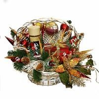 Букет из конфет Рождественские мотивы