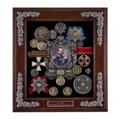 Средняя настенная ключница Александр II