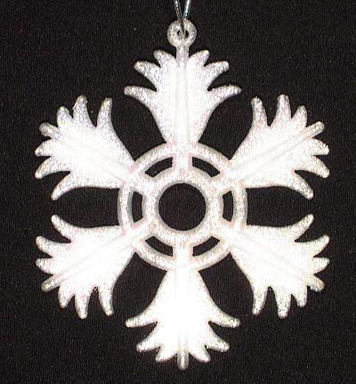 Снежинка  «Еловая лапа»