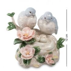 Музыкальная статуэтка Пара птичек (Pavone)