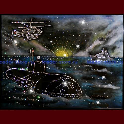 Картина Swarovski Дальний Восток
