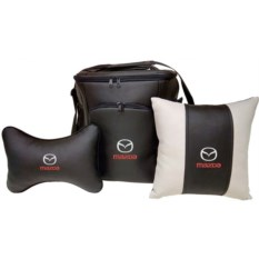 Набор из термосумки, подушки-подголовника и подушки Mazda