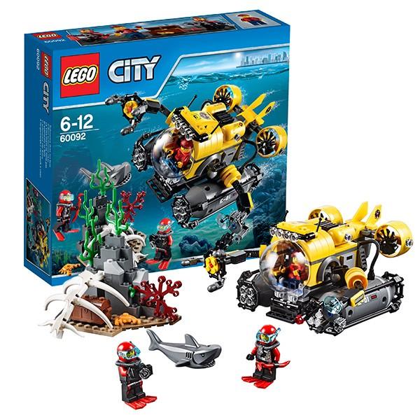 Конструктор Lego City Подводная лодка