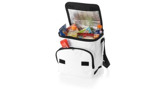 Складная белая сумка-холодильник