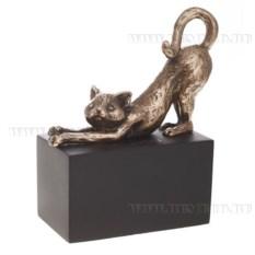 Декоративная фигурка Кошка (цвет — бронзовый)