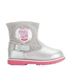 Серые полусапоги Peppa Pig