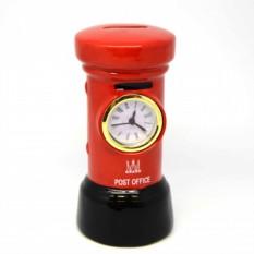 Часы с копилкой Post office